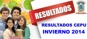 resultados CEPU INVIERNO unjbg-2014