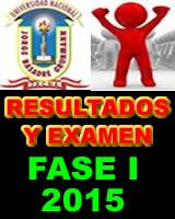 resultados-FAES I-unjbg 2015
